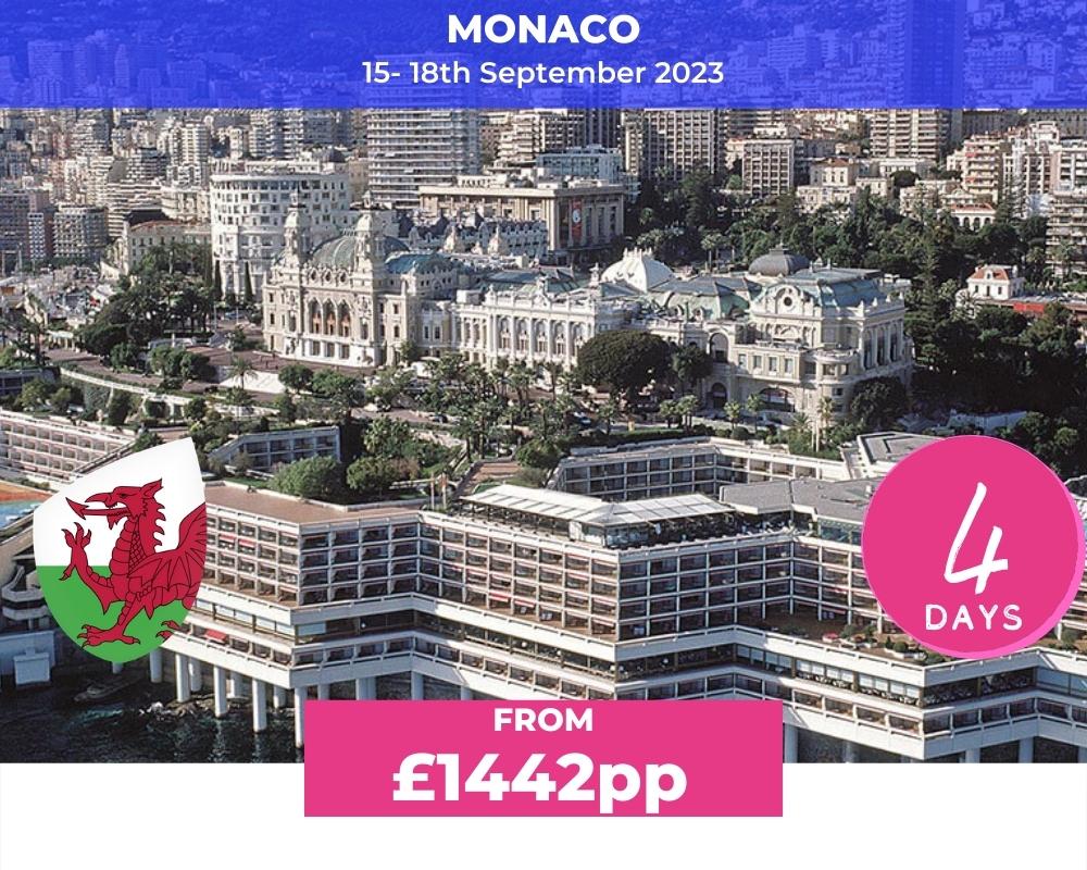 Long Weekender Nice & Monaco - Wales RWC 2023