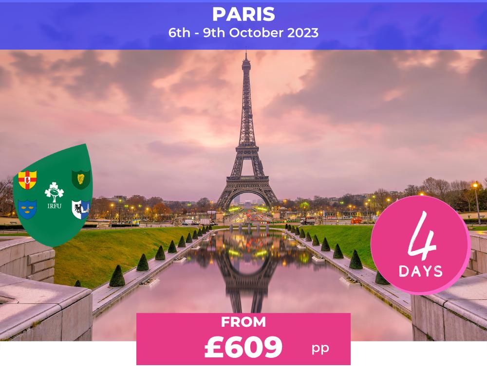 Long Weekender - Paris RWC 2023