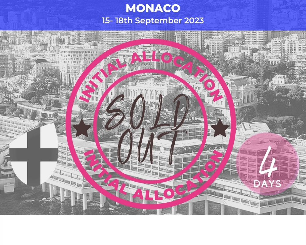 England Monaco Weekender RWC2023 Sold out