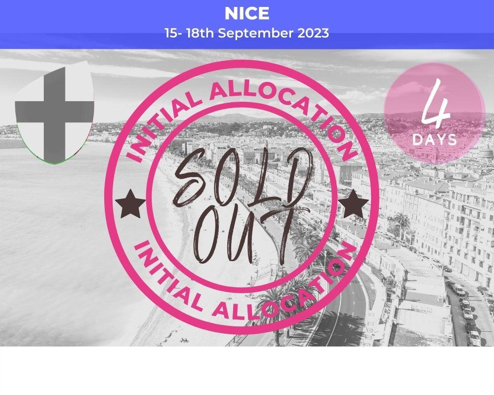 Long Weekender - Nice 2023