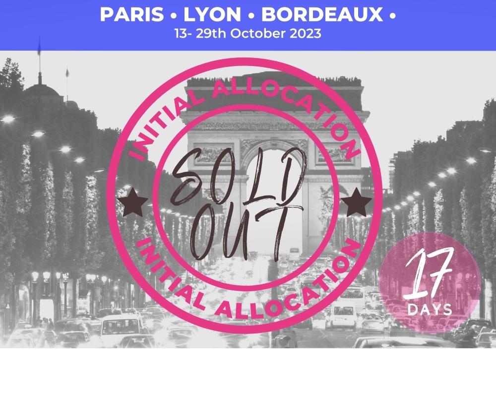 Knockout Triple - Paris RWC 2023 SOLD OUT