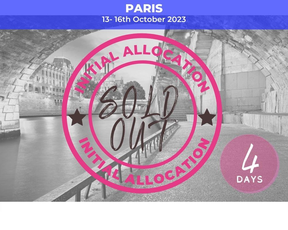 Quarter Finals Paris - RWC2023 sold out