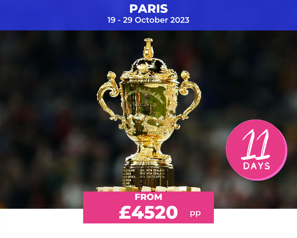 Rugby World Cup Semi-finals and Final 2023 package