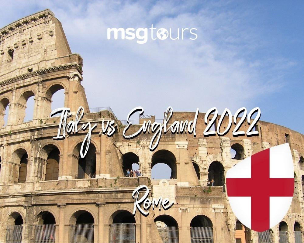 Italy vs England 2022 - Rome