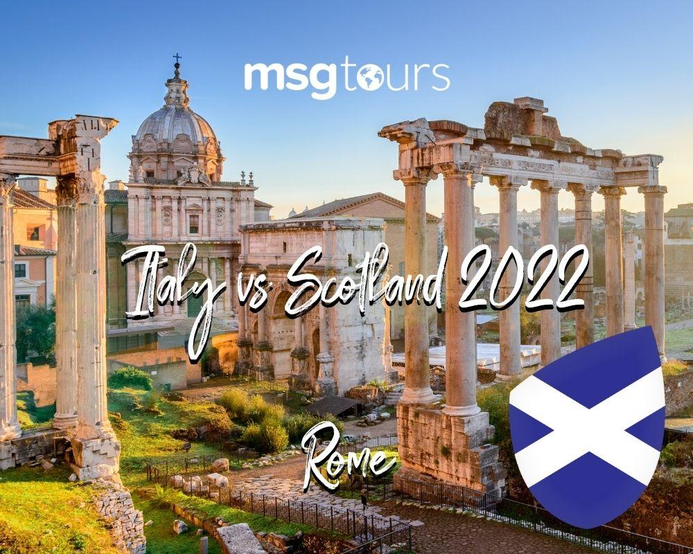 Italy vs Scotland 2022