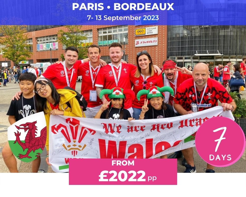 Wales Opening Weekend RWC 2023