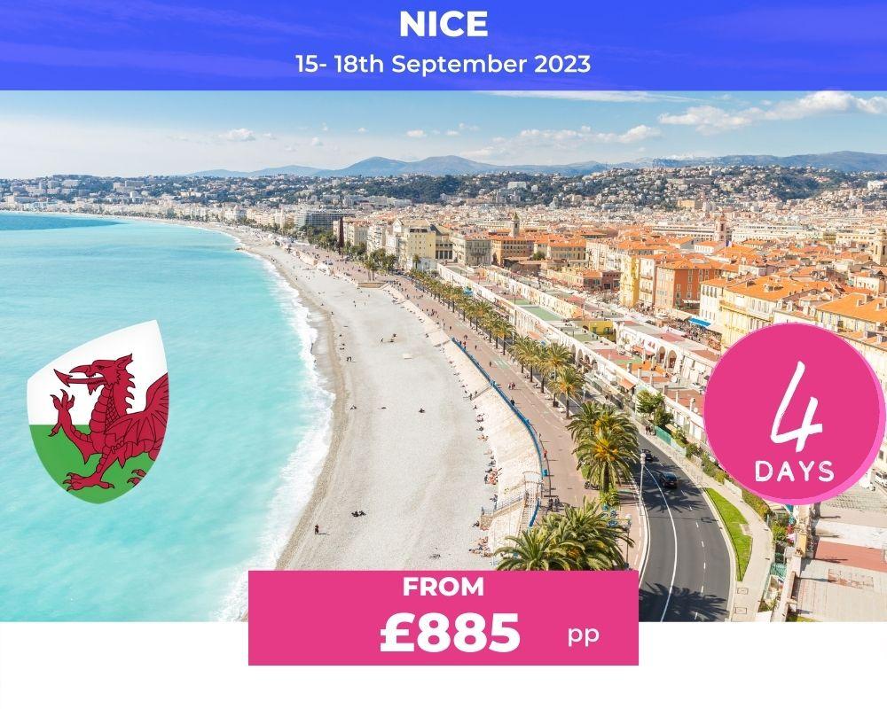 Wales Long Weekender - Nice RWC 2023